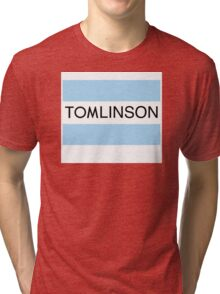 One Direction Tomlinson Banner Tri-blend T-Shirt
