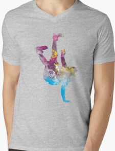hip hop galaxy Mens V-Neck T-Shirt