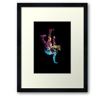 hip hop galaxy Framed Print