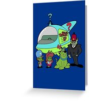 The Mystery Kids Mysteries Greeting Card