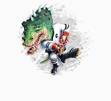 Slash Dinosaur Hockey Player Unisex T-Shirt