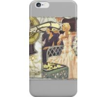 Tea For Three  iPhone Case/Skin