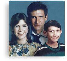 Solo Organa Skywalker family portrait Canvas Print