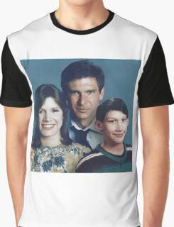 Solo Organa Skywalker family portrait Graphic T-Shirt