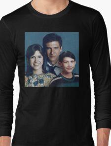 Solo Organa Skywalker family portrait Long Sleeve T-Shirt