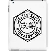ConstantKaizen Circle Crest iPad Case/Skin