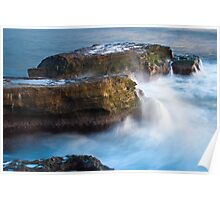 West Cliff Waterfalls Poster