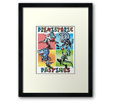 Prehistoric Pastimes Dinosaur  Youth Sports Framed Print