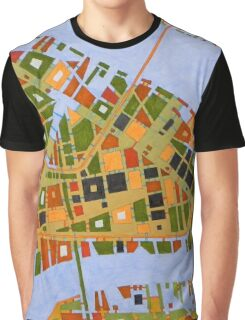 imaginary map of Dallas Graphic T-Shirt