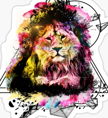 THE LION Sticker