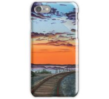 Hit The Tracks iPhone Case/Skin