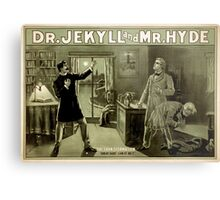 Gothic fiction - dr. jekyll and mr. Hyde Metal Print