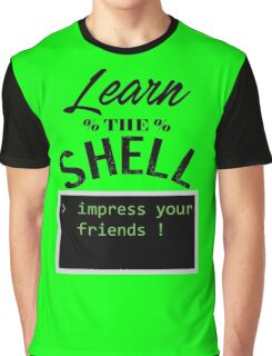 Learn the shell Graphic T-Shirt