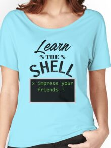 Learn the shell Women's Relaxed Fit T-Shirt