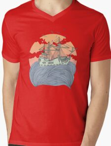 Mother Nature Mens V-Neck T-Shirt