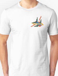 Flat design Swallow tattoo [London] T-Shirt