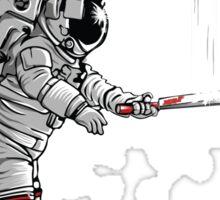 Space cricket Sticker