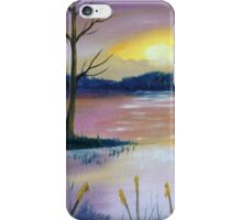 Stormy Sunset iPhone Case/Skin