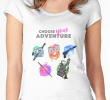 Choose Your Adventure Women's Fitted Scoop T-Shirt