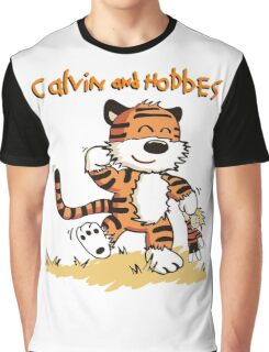 Calvin An Hobbes Graphic T-Shirt