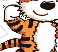 Calvin An Hobbes Sticker