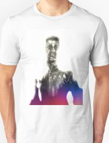 Teleportation of the Silver Man Unisex T-Shirt