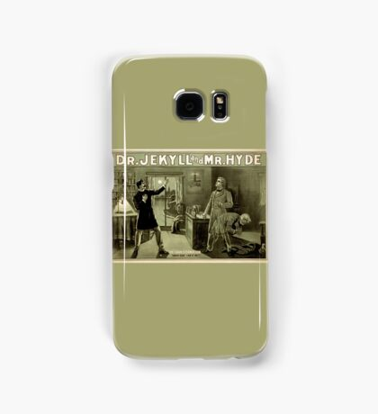 Gothic fiction - dr. jekyll and mr. Hyde Samsung Galaxy Case/Skin