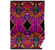Psychedelic Abstract colourful work 122 Poster