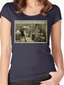 Gothic fiction - dr. jekyll and mr. Hyde Women's Fitted Scoop T-Shirt
