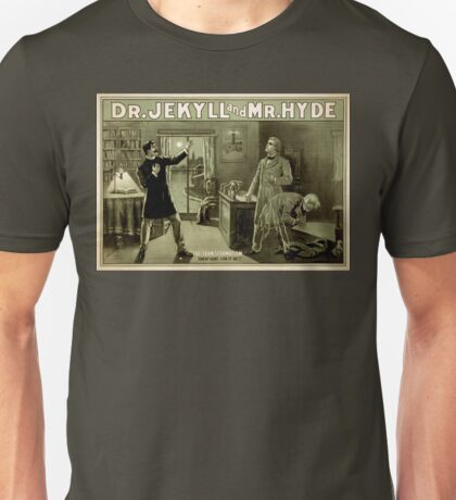 Gothic fiction - dr. jekyll and mr. Hyde Unisex T-Shirt