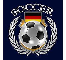 Germany Soccer Fan Photographic Print