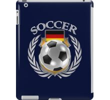 Germany Soccer Fan iPad Case/Skin