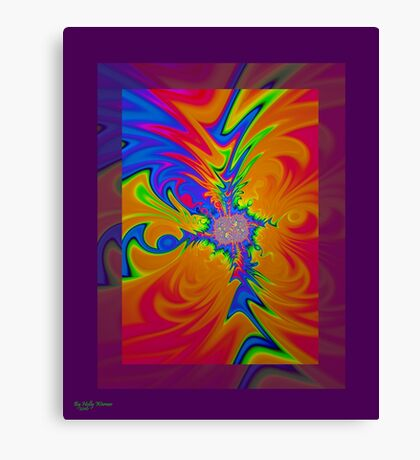 Psychedelic Rush Canvas Print