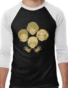 Miami Royalty Golden Edition Men's Baseball ¾ T-Shirt