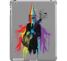 Surrealism man guitarist iPad Case/Skin