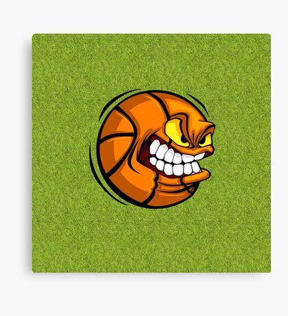 Ball Grumpy Canvas Print