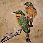 BEE EATERS by Marilyn Grimble