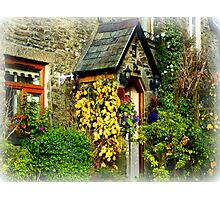 Devon Cottage Photographic Print