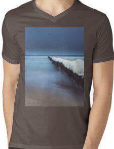 Evening by the sea Mens V-Neck T-Shirt
