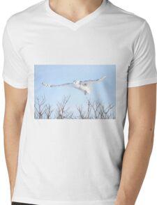 The goddess of gliding Mens V-Neck T-Shirt