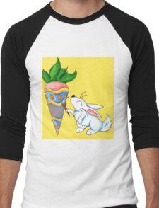 Easter Carrot Men's Baseball ¾ T-Shirt
