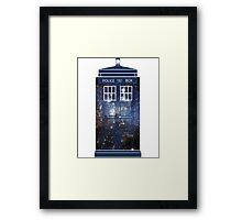 Doctor Who - Galaxy Framed Print