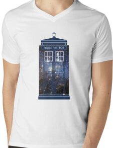 Doctor Who - Galaxy Mens V-Neck T-Shirt