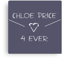 Chloe Price Forever Canvas Print