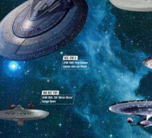 Star Trek Enterpries (All) Sticker