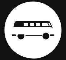 Minimal VW Van Kids Tee