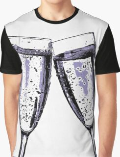 Champagne wishes and caviar dreams Graphic T-Shirt