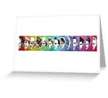 Doctor Who - All 13 Greeting Card