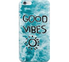 Random, Good Vibes iPhone Case/Skin