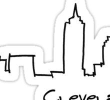 Cleveland, Ohio: II  Sticker